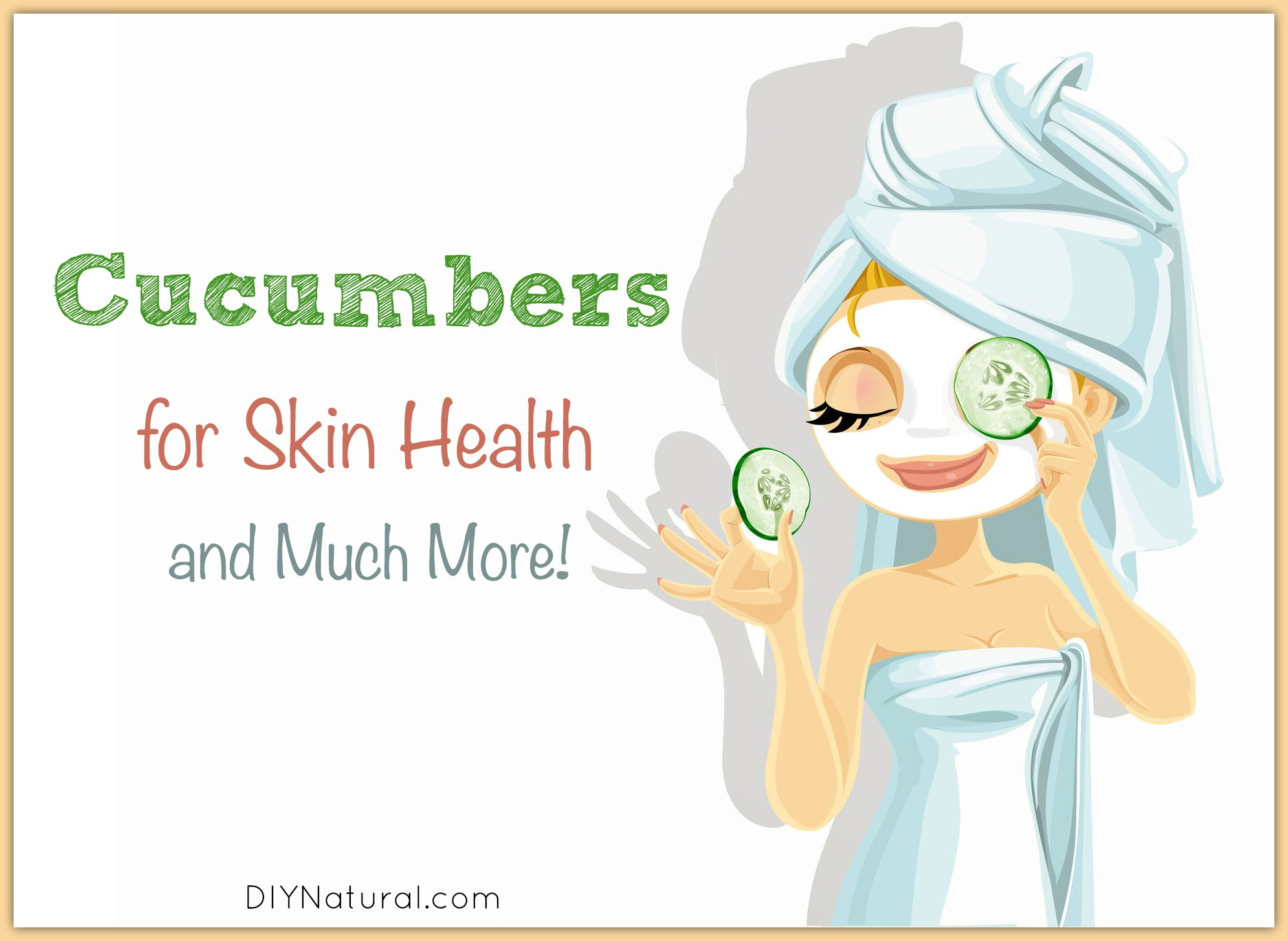 Cucumber For Acne and Five Other Surprising Uses