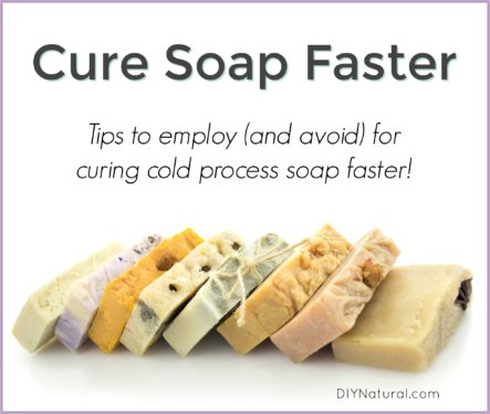 Curing Soap Faster