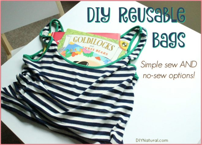 Learn How to Make Simple, Reusable Market Bags