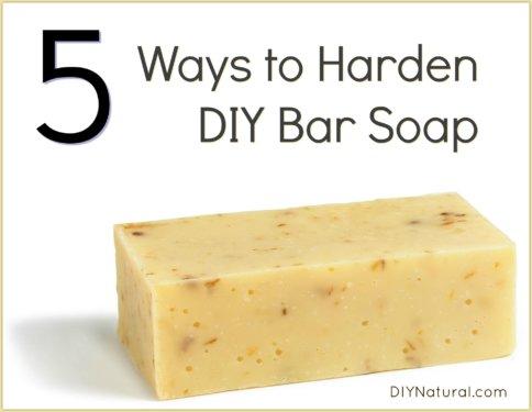 DIY Bar Soap Hard