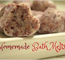 Homemade Bath Melts Recipe Using Pink Sea Salt