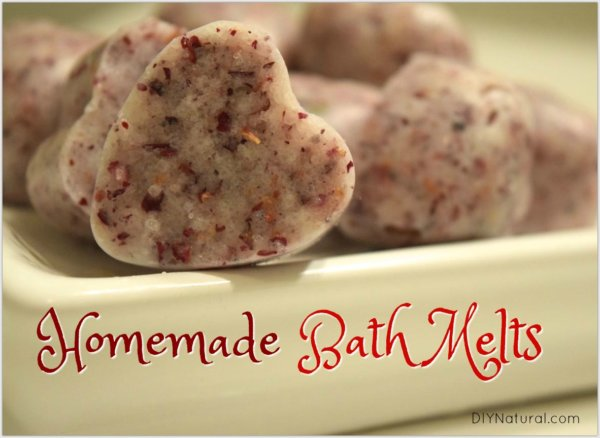Himalayan Salt bath DIY shower melts