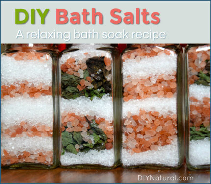 DIY Bath Salts Homemade Bath Soak