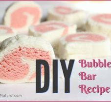 A Simple and Natural DIY Bubble Bath Bar Recipe
