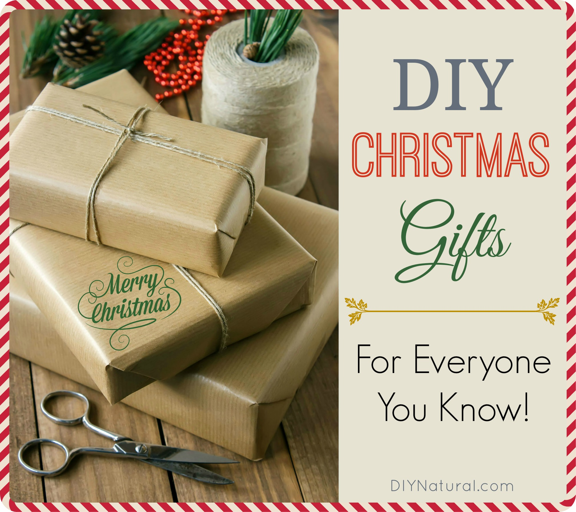 DIY Christmas Gifts For Everyone You Know!