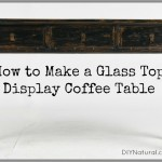 How To Make A DIY Glass-top Coffee Table Display