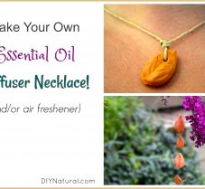 DIY Essential Oil Diffuser for Use as Jewelry & More