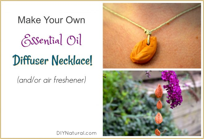 DIY Diffuser Necklace Pendant