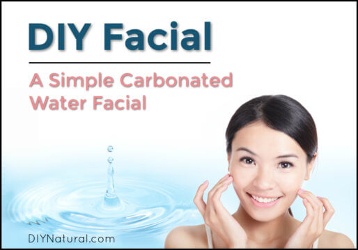DIY Facial Carbonated Water