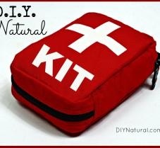 Creating a DIY Natural First Aid Kit