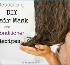 Deodorizing DIY Hair Mask and Conditioner Recipes