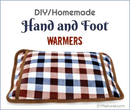 DIY Hand Warmers Homemade Foot Warmers