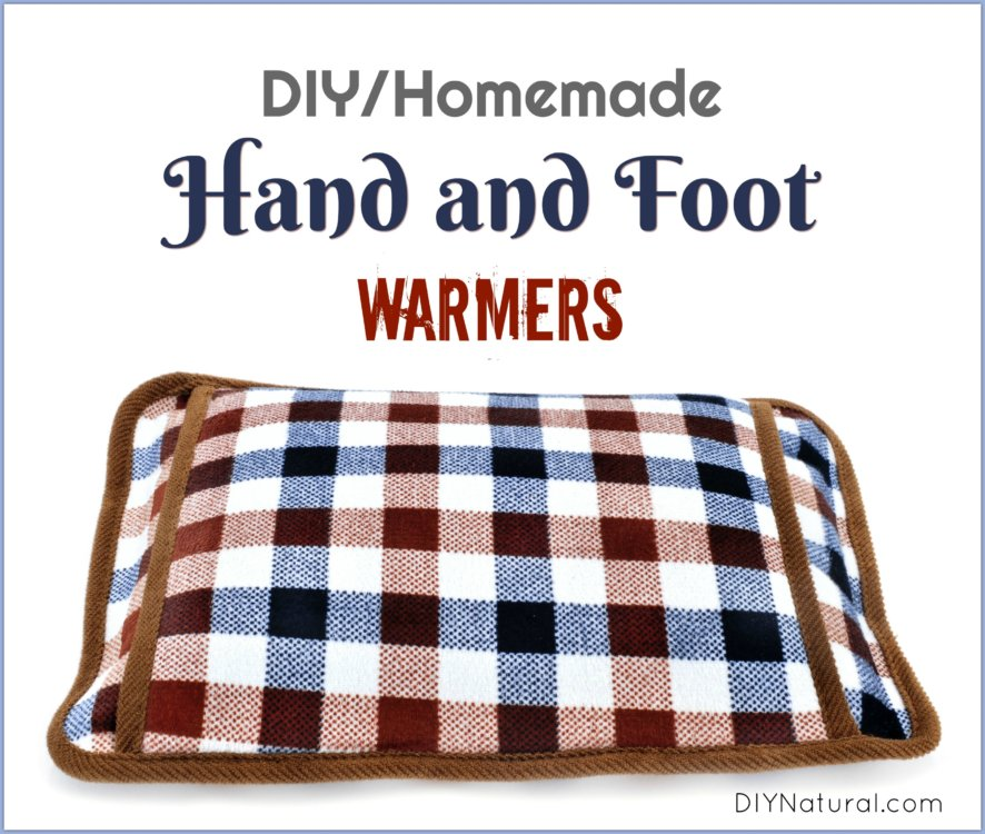 DIY Hand Warmers Homemade Foot Warmers