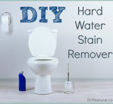 A DIY Hard Water Stain Remover Recipe for Cleaning