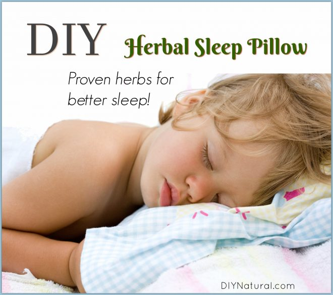 DIY Herbal Sleep Pillow