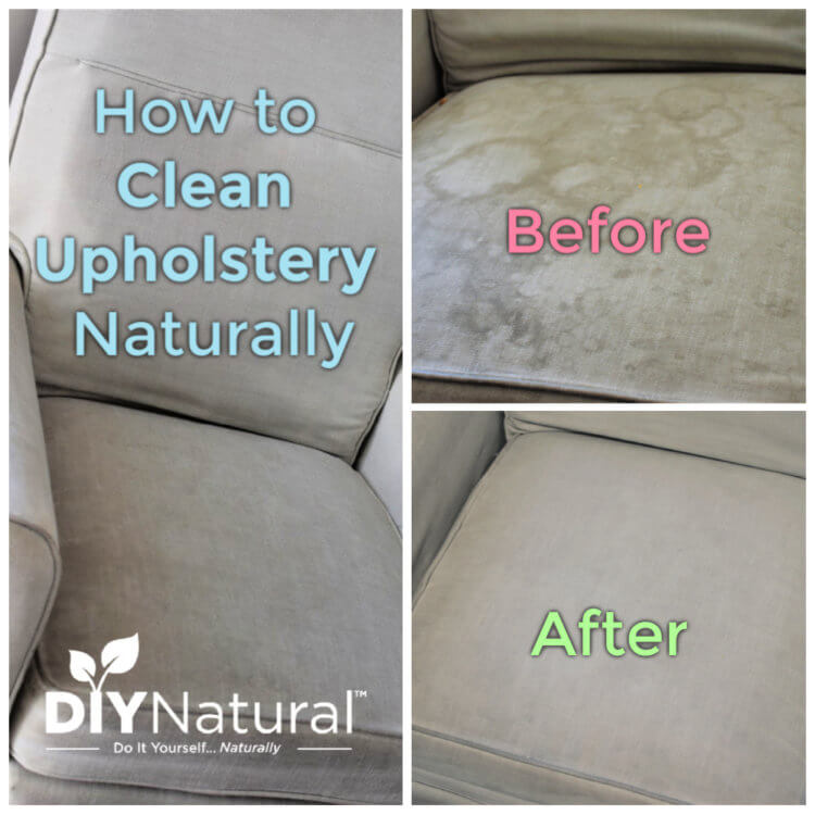 DIY Natural Upholstery Cleaner Recipe and Tutorial