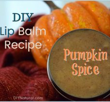 A Nourishing DIY Pumpkin Spice Lip Balm Recipe