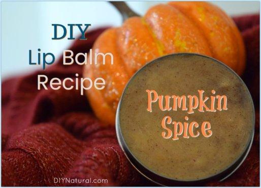 DIY Lip Balm Pumpkin Spice