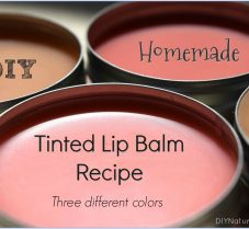 How to Make Naturally Tinted Lip Balm: 3 Colors