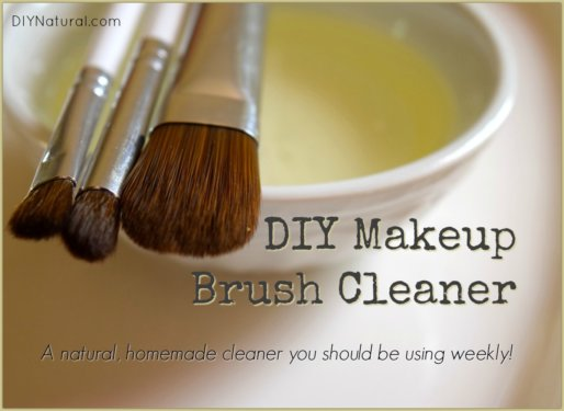 DIY Makeup Brush Cleaner Homemade