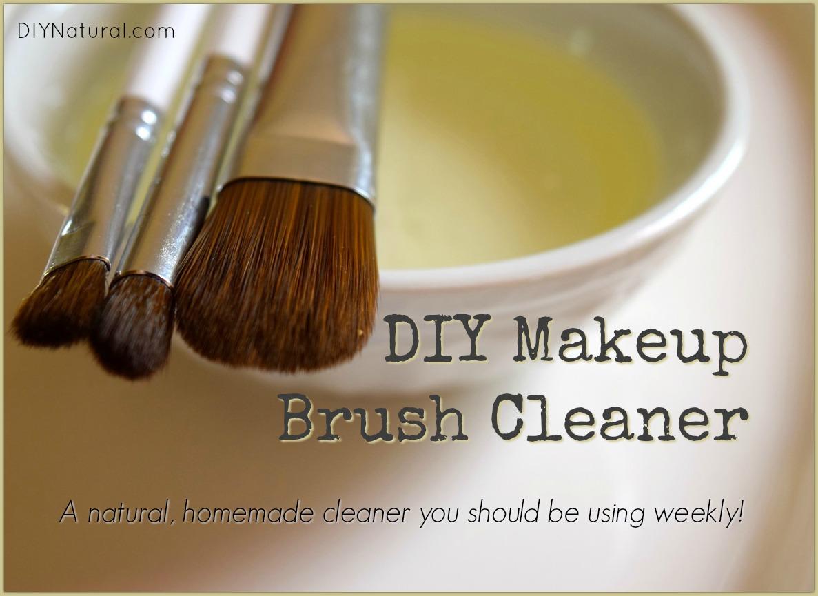 DIY Makeup Brush Cleaner: A Natural