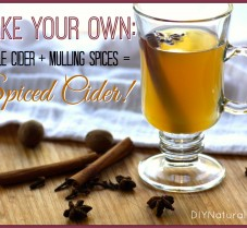 DIY Apple Cider & Mulling Spices for Spiced Cider