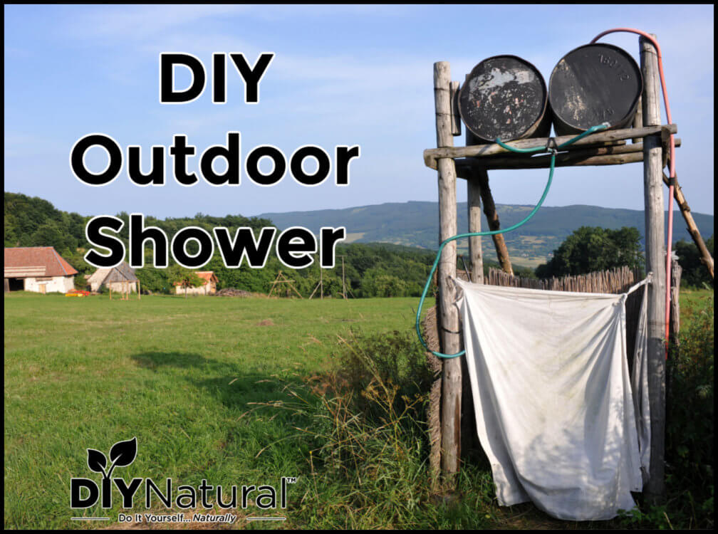 How to Build A Naturally Heated Outdoor Shower