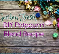 How to Make A Garden-Fresh DIY Potpourri Blend