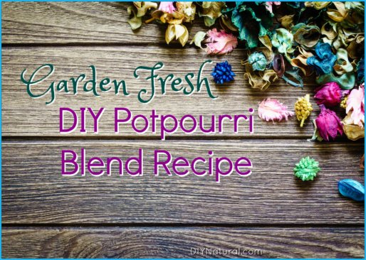 DIY Potpourri Recipe