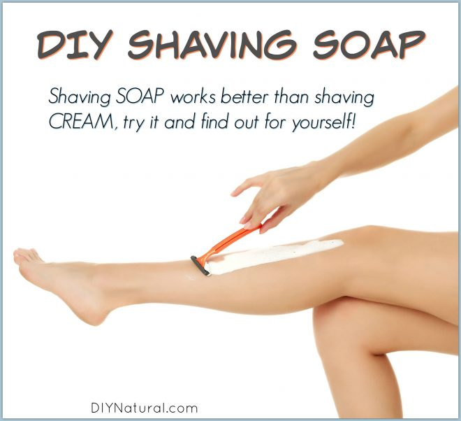 DIY Shaving Cream Soap