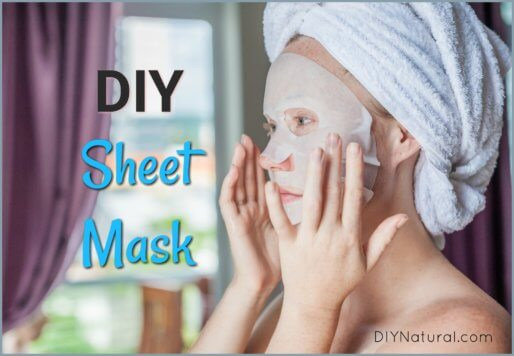 DIY Sheet Mask How to Make a Peel Off Face Mask