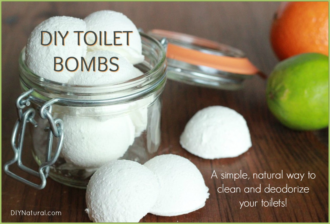 Toilet Bombs A Deodorizing Diy Toilet Cleaner Bomb Recipe
