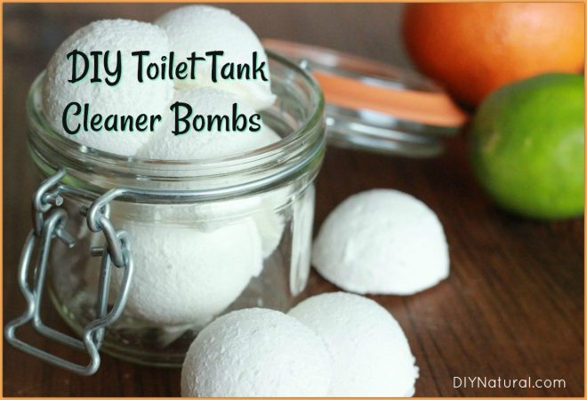 DIY Toilet Tank Cleaner Bombs