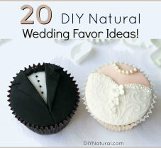 20 Ideas for Amazing DIY Natural Wedding Favors