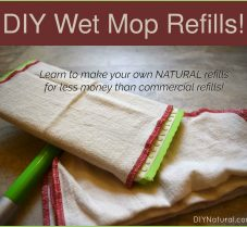 Learn to Make Your Own DIY Wet Mop Cloth Refills