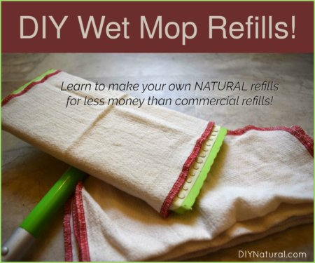DIY wet mop refill