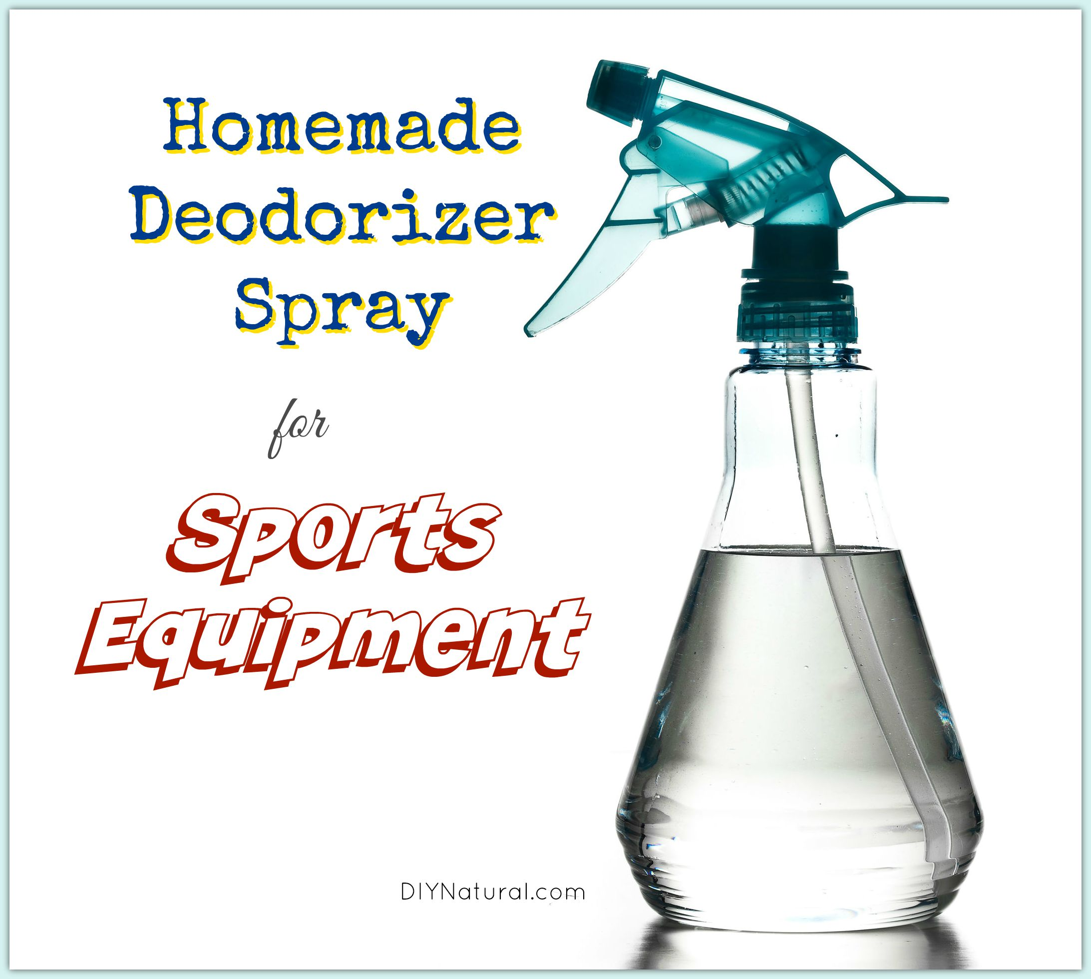 Deodorizer Spray For Sport Equipment Natural Homemade