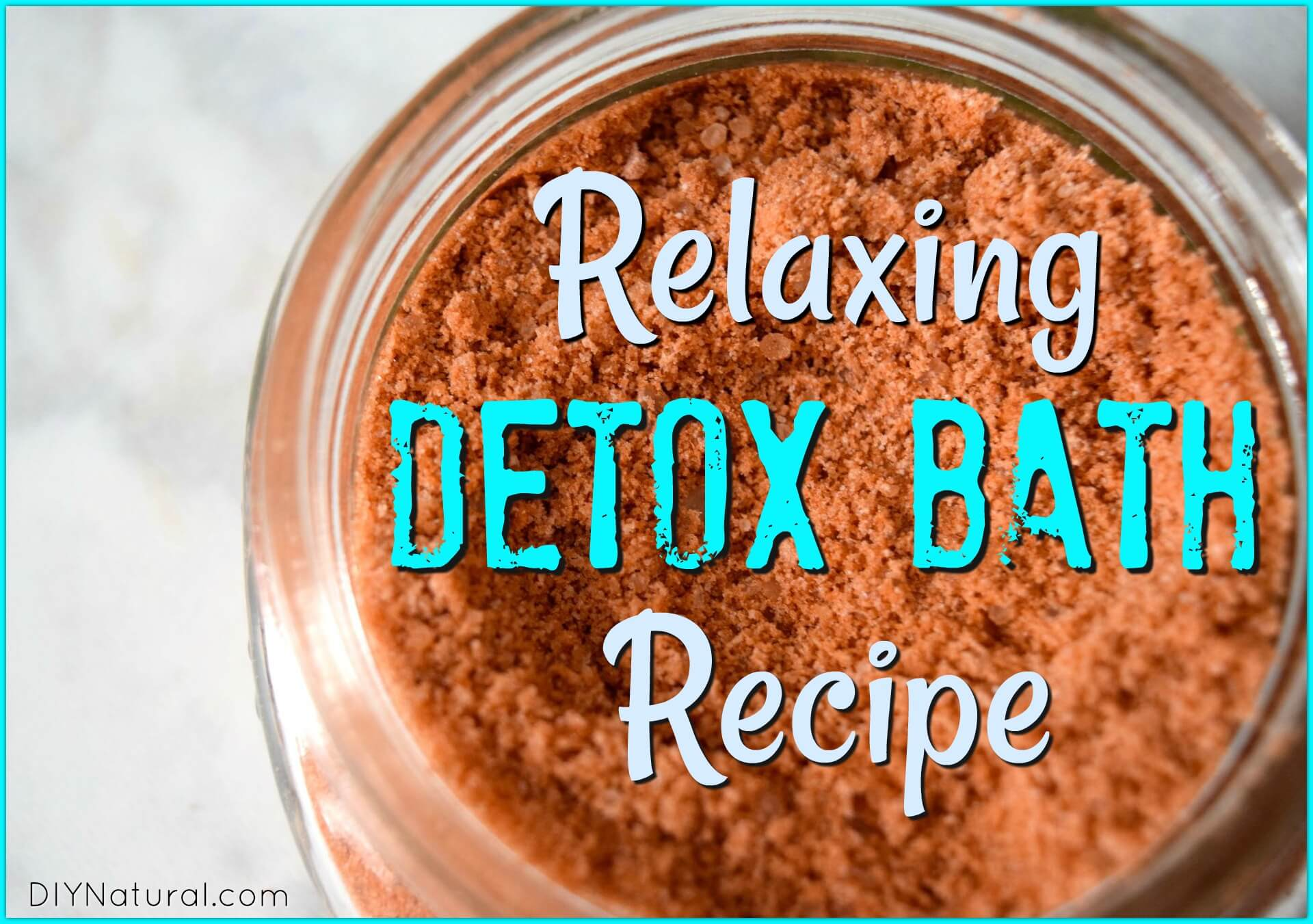 Detox bath a relaxing recipe with french red clay and for Epsom salt in french
