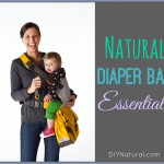 Natural Diaper Bag Essentials While On The Go
