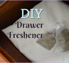 DIY Drawer Fresheners for Naturally Fresh Clothes