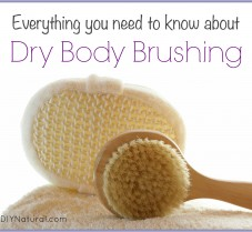 Dry Brushing Skin Can Improve Cellulite, Circulatory, & Lymphatic Health
