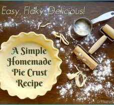 A Simple and Delicious Homemade Pie Crust Recipe