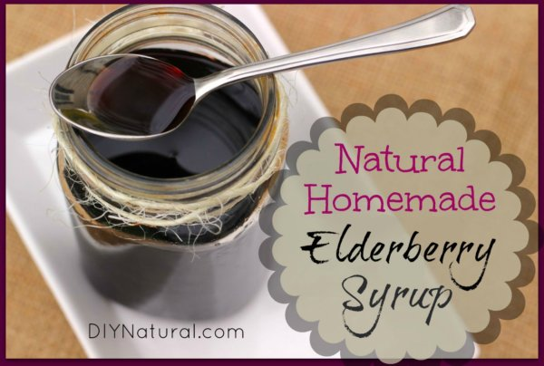 Elderberry Syrup Homemade Cough Syrup