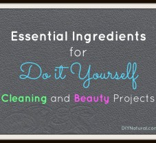 Essential Ingredients for DIY Cleaning and Beauty