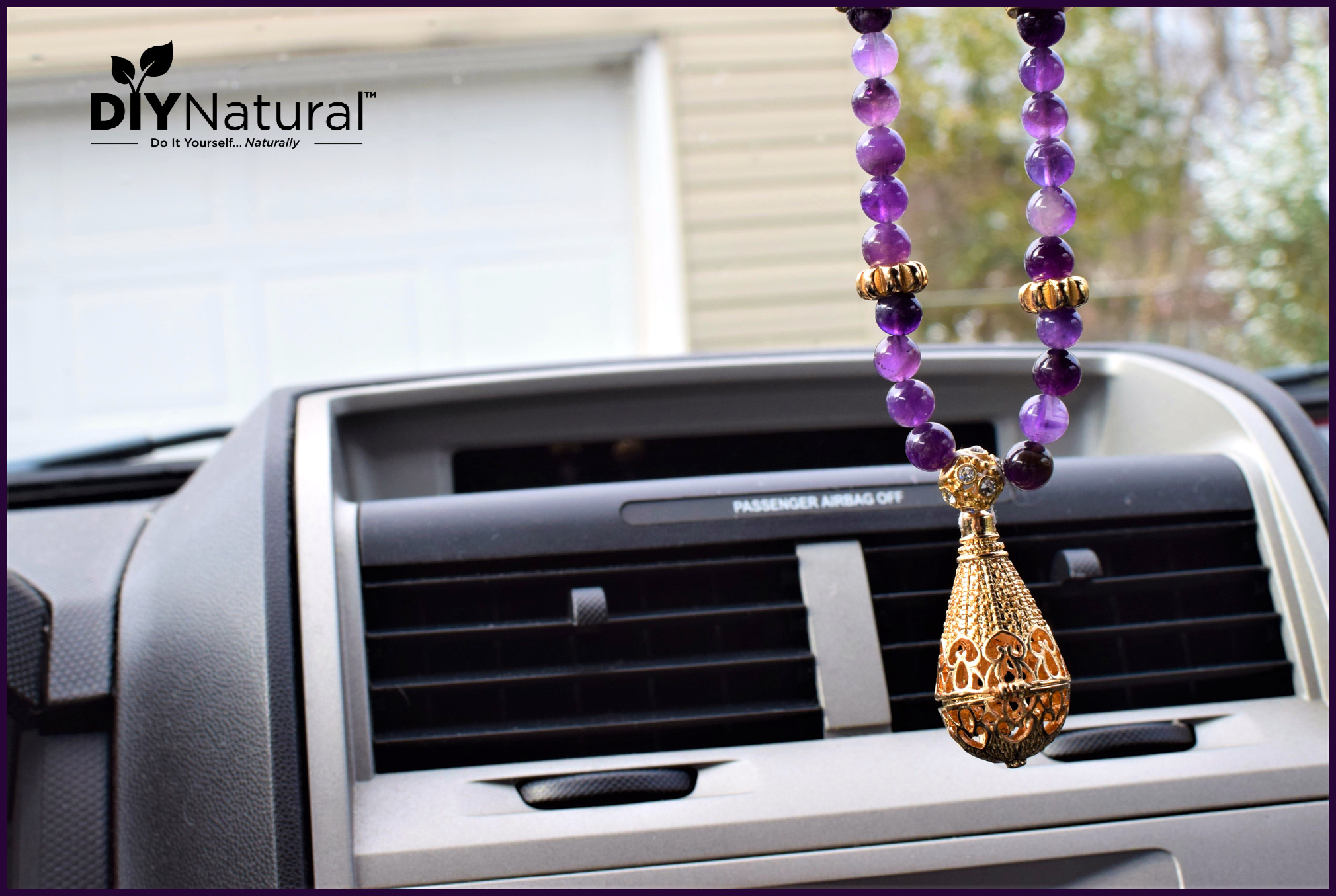 Essential Oil Diffuser Jewelry Car