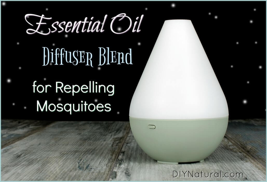 Essential Oil Mosquito Repellent Diffuser Blend