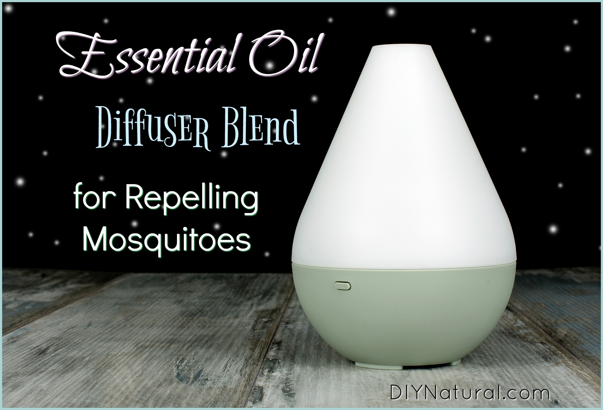 Essential Oil Mosquito Repellent Blend For Use In Your Diffuser
