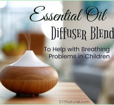 Essential Oil Diffuser Blend for Breathing Problems