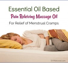 Pain Relieving Massage Oil for Menstrual Cramps