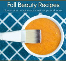 Simple Fall Beauty Recipes for Your Hair and Face